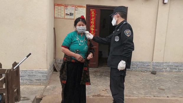Tibet during corona