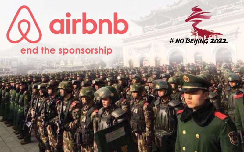Airbnb: don't sponsor the Beijing Olympics